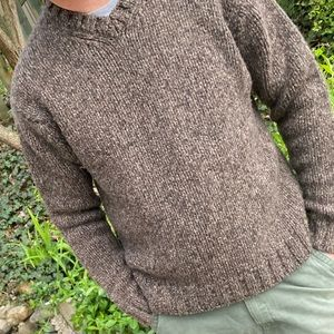 Falls Creek lambs wool v-neck sweater